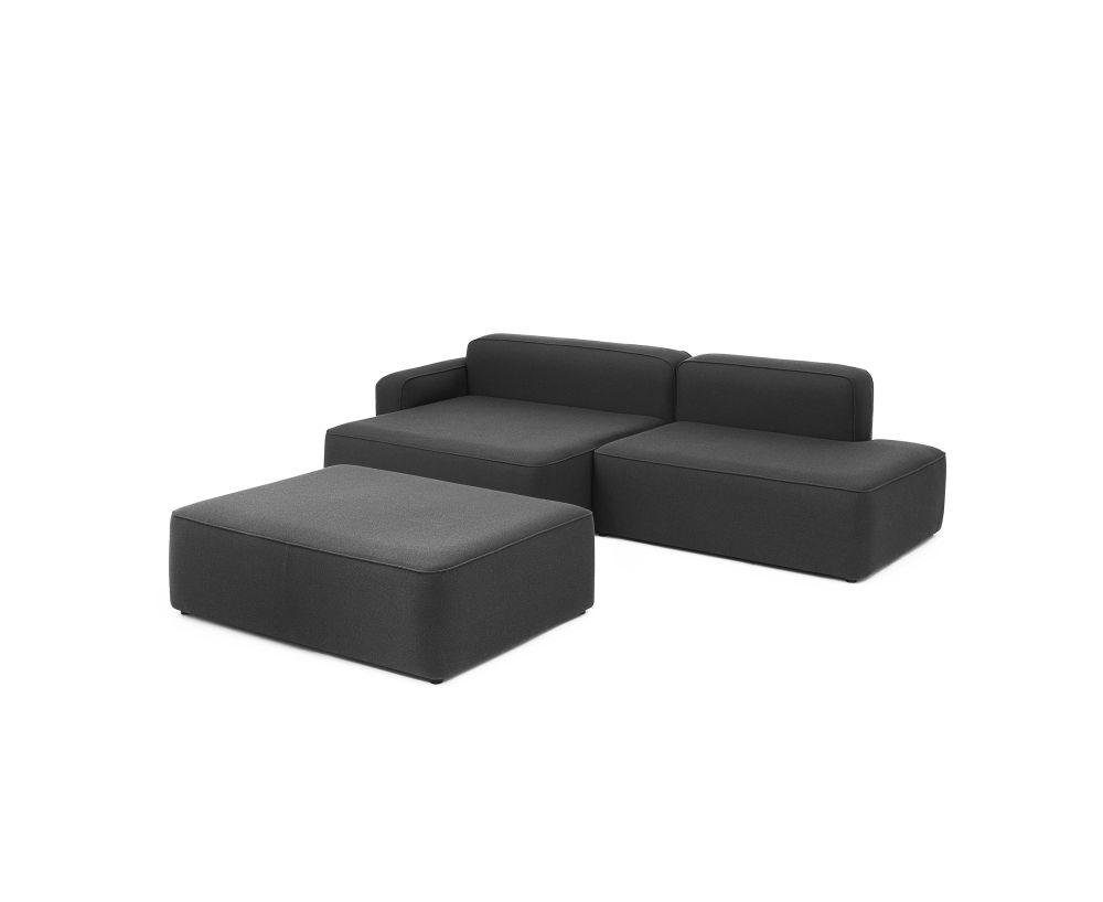 Sofa Modular Gdd0 Rope Modular sofa 700 Pouf Small Fame by normann Copenhagen