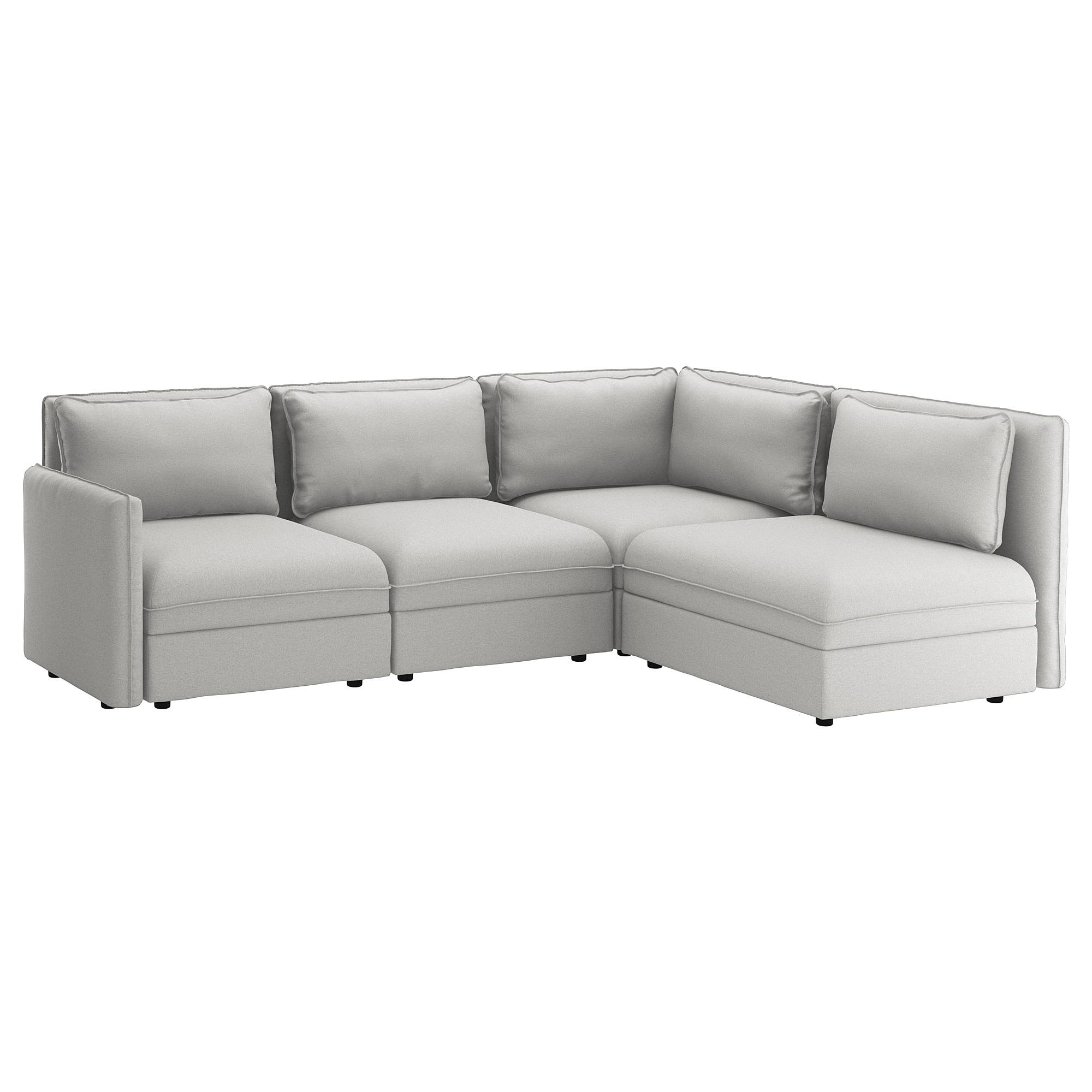 Sofa Modular Ipdd Vallentuna Modular Corner sofa 3 Seat with Storage orrsta Light