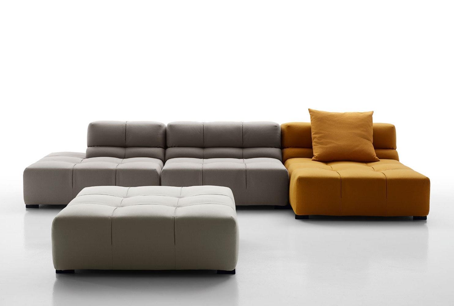 Sofa Modular J7do Modular sofa Contemporary Leather Fabric Tufty Time 15