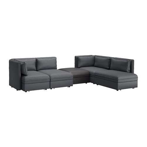 Sofa Modular J7do Vallentuna 4 Seat Modular sofa W 3 sofa Beds and Storage Hillared