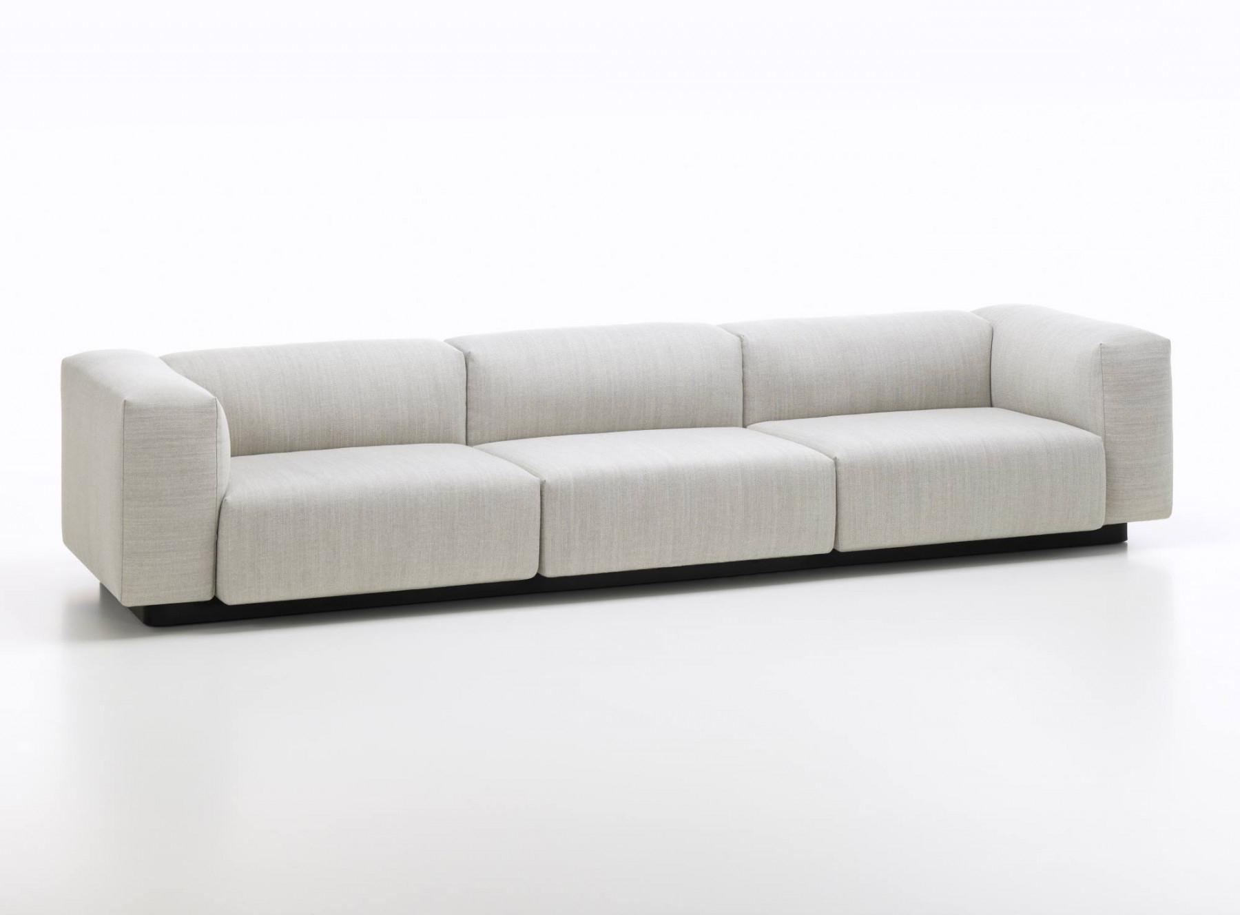 Sofa Modular Tldn soft Modular sofa Three Seater Vitra