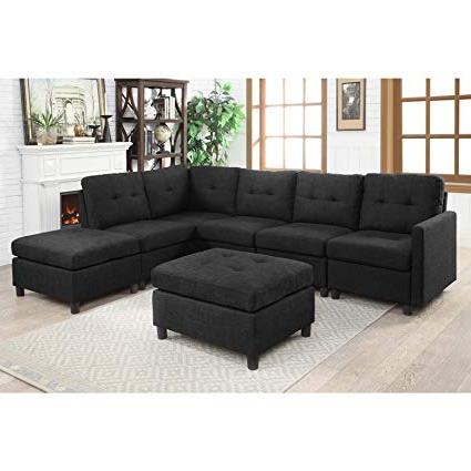 Sofa Modular Xtd6 Bliss Brands Modular Sectional Fabric sofa Sets assemble