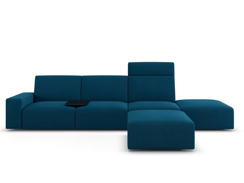 Sofa Modular Zwd9 Modular sofa Sistema by Viccarbe Design Lievore Altherr Molina