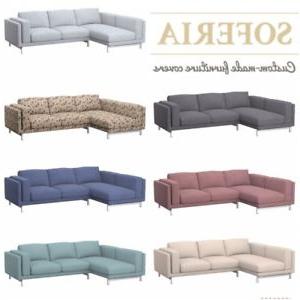 Sofa Nockeby 8ydm Ikea Nockeby 2 Seat sofa Cover with Left Chaise Longue Over 20