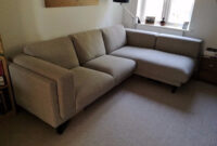 Sofa Nockeby D0dg Like New Condition Ikea Nockeby sofa with Chaise Longue On Left