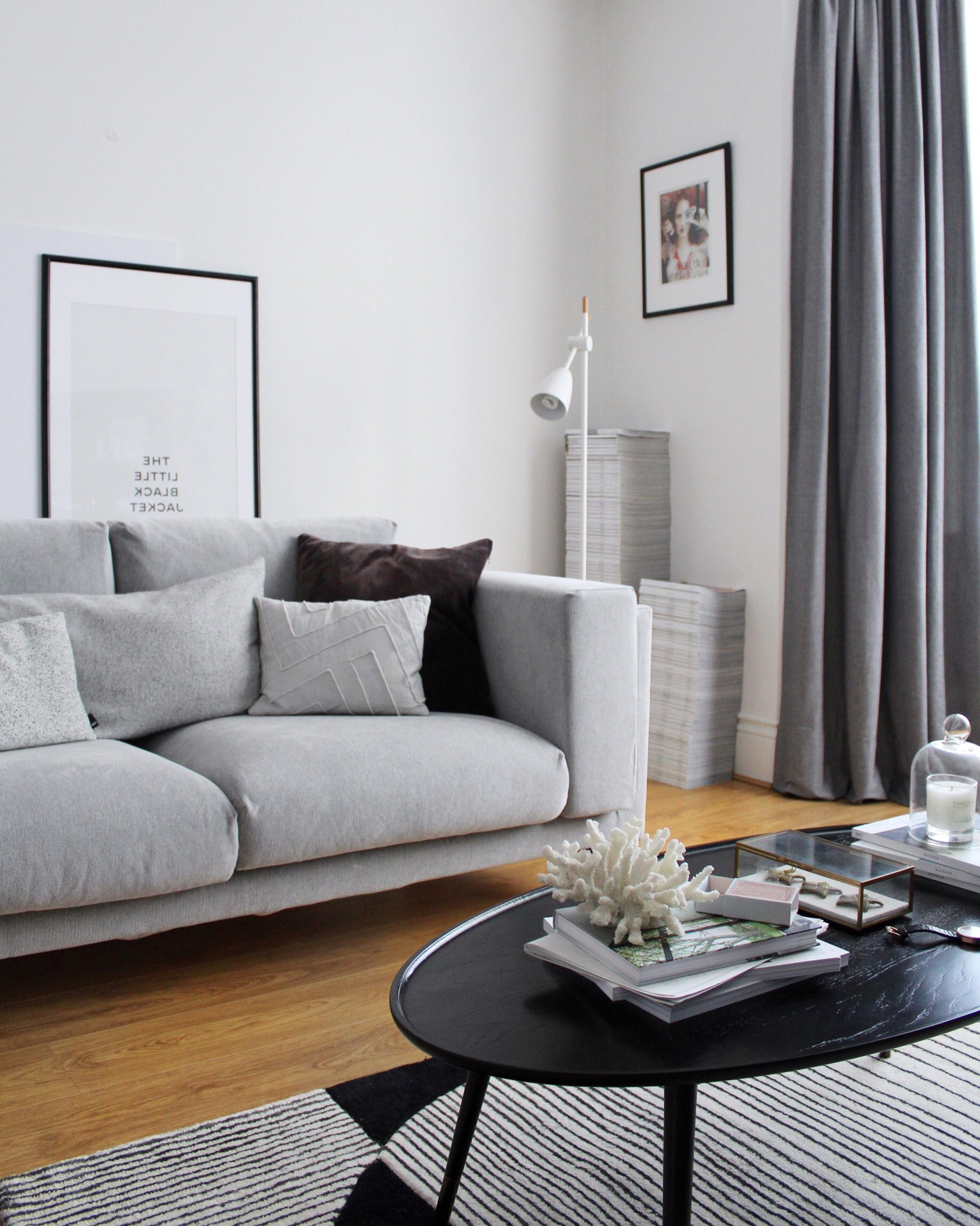Sofa Nockeby Dwdk Living Room Update Part One the Ikea Nockeby sofa is In It S