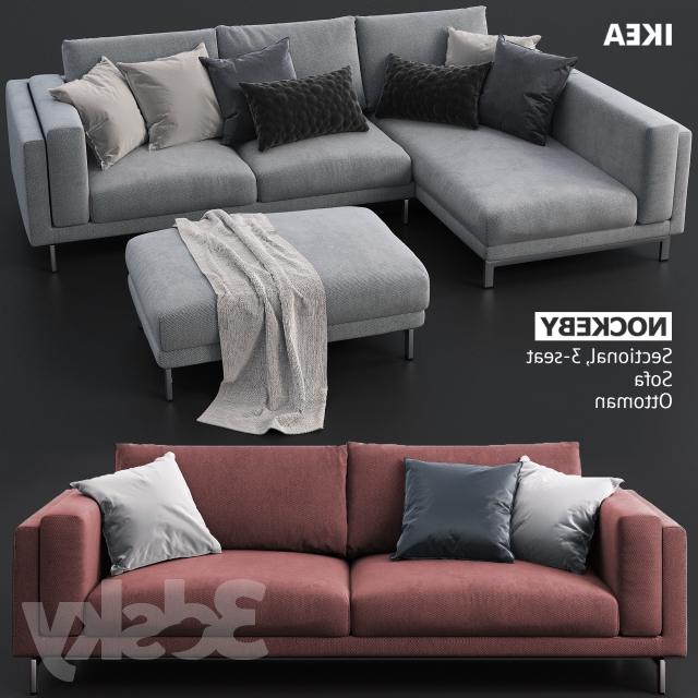 Sofa Nockeby E6d5 3d Models sofa sofas and Ottoman Ikea Nockeby