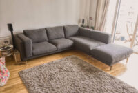 Sofa Nockeby Ftd8 Ikea Nockeby Grey Fabric Corner sofa Chaise and Footstool Under