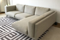 Sofa Nockeby Irdz Ikea Nockeby L Shaped sofa Furniture sofas On Carousell