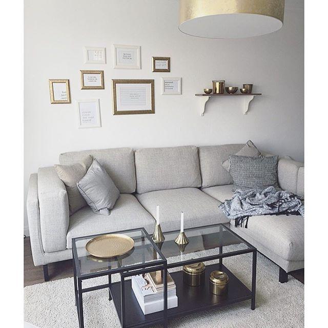 Sofa Nockeby Thdr Ikea Nockeby sofa Traum Naturtà Ne Kombiniert Mit Etwas Gold Und