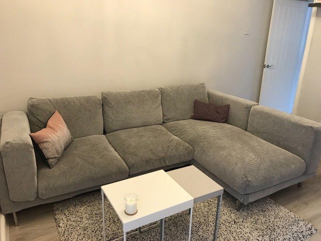 Sofa Nockeby Txdf Ikea 3 Seater Corner sofa Nockeby Tallmyra White Black with