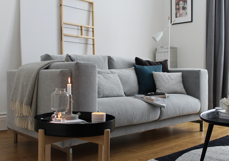 Sofa Nockeby Wddj A Living Room Update Featuring Ikea S Nockeby sofa Ypperlig Range