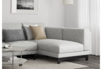 Sofa Nockeby Xtd6 Nockeby 3 Seat sofa with Chaise Longue Left Tallmyra White Black