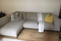 Sofa Nockeby Y7du Used Ikea Nockeby Corner sofa In Light Grey Wood In Wc1h London for