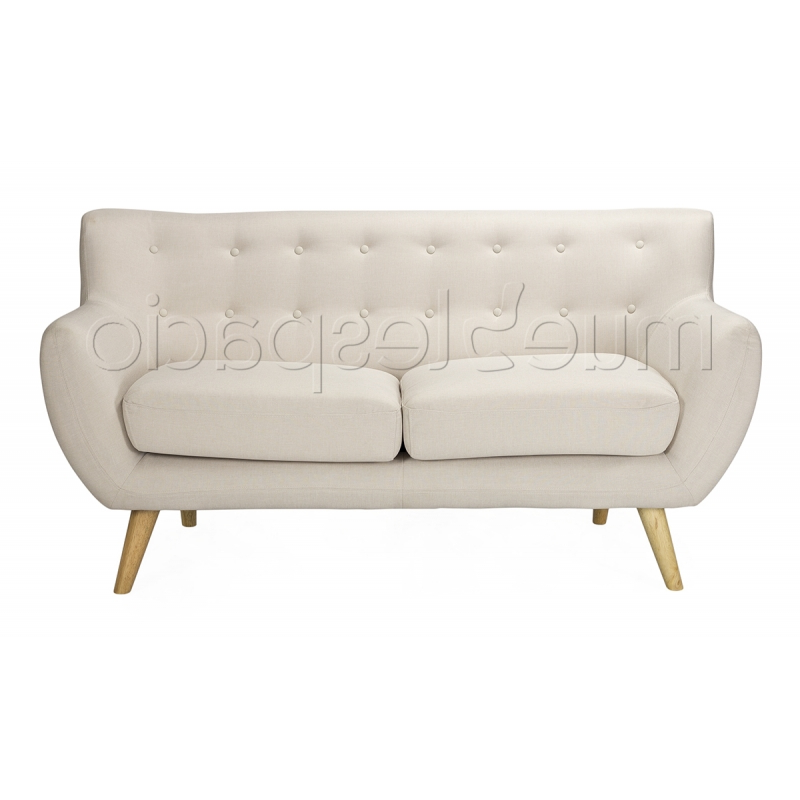Sofa nordico Barato O2d5 sofa nordico 2 Plazas Mueblespacio