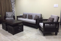 Sofa Online Q0d4 Wooden sofa Set 3 1 1 Vartul Wooden sofas Online RightwoodÂ