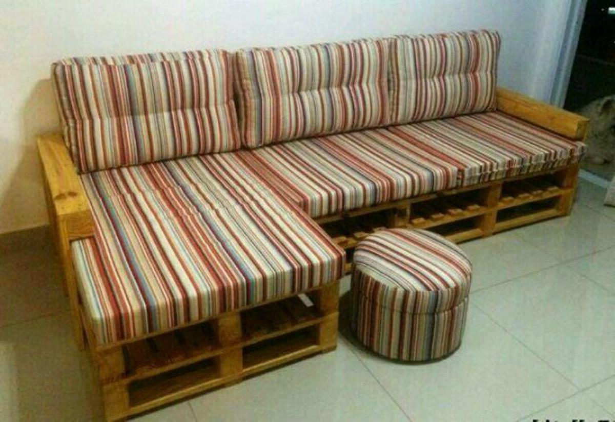 Sofa Pallet 3id6 sofà De Pallet 5 Pessoas No Elo7 Marcenaria Chrisostomo A412e2