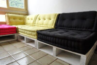 Sofa Pallet 87dx Pallet sofa Bed Easy Diy Projects to Try Pinterest Diy sofa