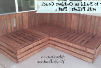 Sofa Pallet H9d9 How to Build An Outdoor Couch with Pallets Part 1