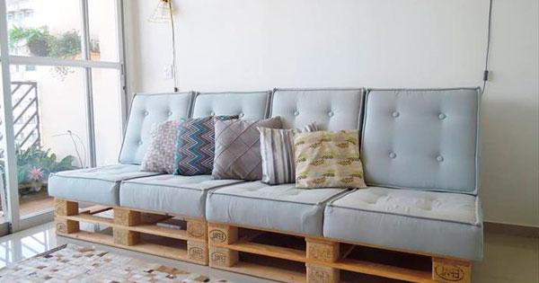 Sofa Pallet J7do O Fazer Um sofà De Pallet E Arrasar Na Decoraà à O Da Sua Casa