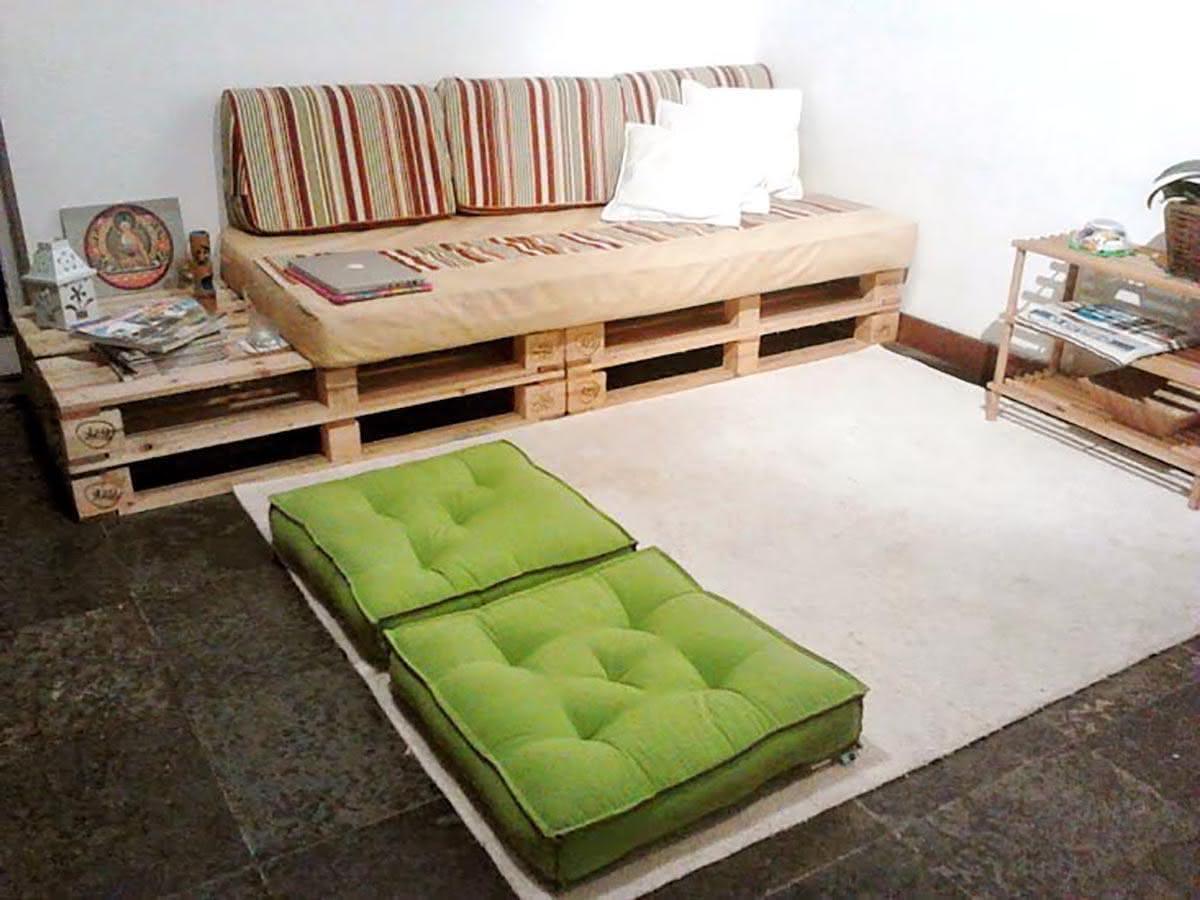 Sofa Pallet Mndw 125 sofà S De Pallets De Madeira Criativos E Passo A Passo Diy