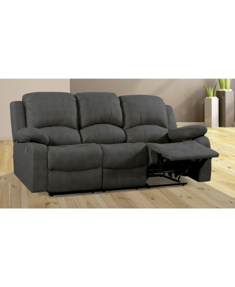 Sofa Reclinable 3 Plazas Wddj sofà 3 Plazas Reclinable Relax Decopaq