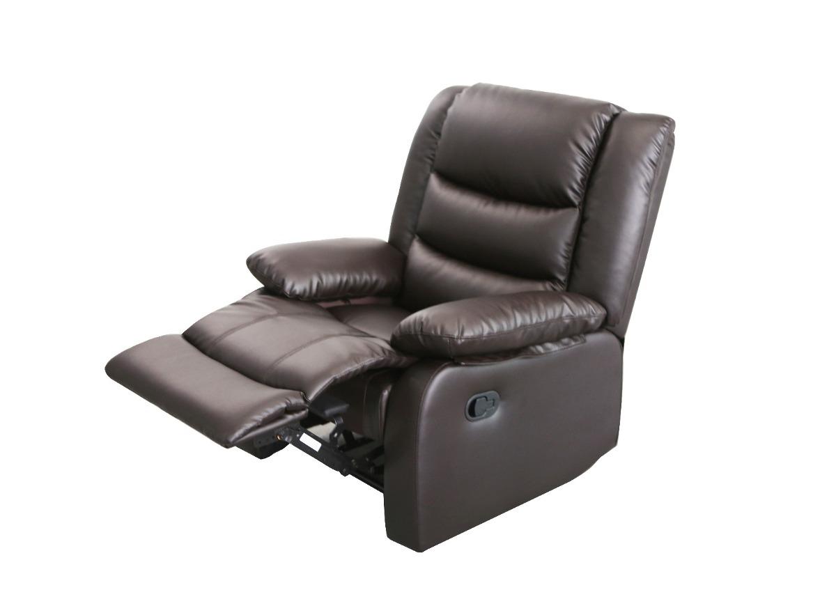 Sofa Reclinable E9dx Sillon sofa Reclinable Relax 1 Cuerpo Celio Ecocuero Marron