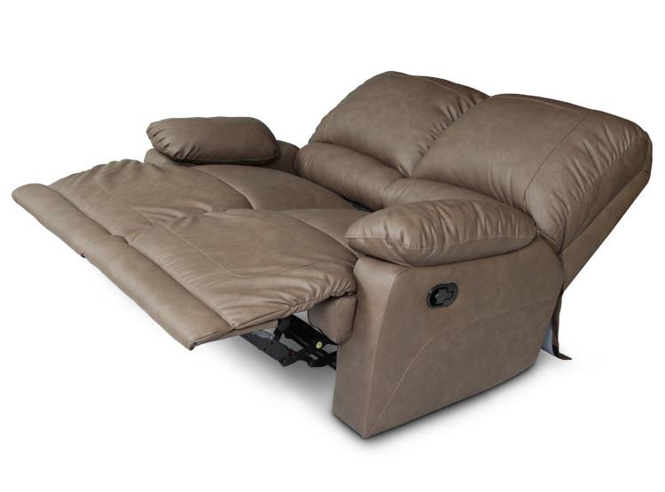 Sofa Reclinable Etdg Ripley sofa Reclinable Rosen Belfort Marron 2 Cuerpos