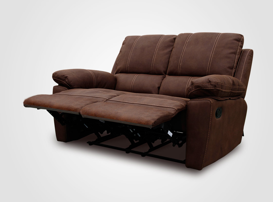 Sofa Reclinable Irdz Rosen Rosen sofà Reclinable Bruno 2 Cuerpos Chocolate
