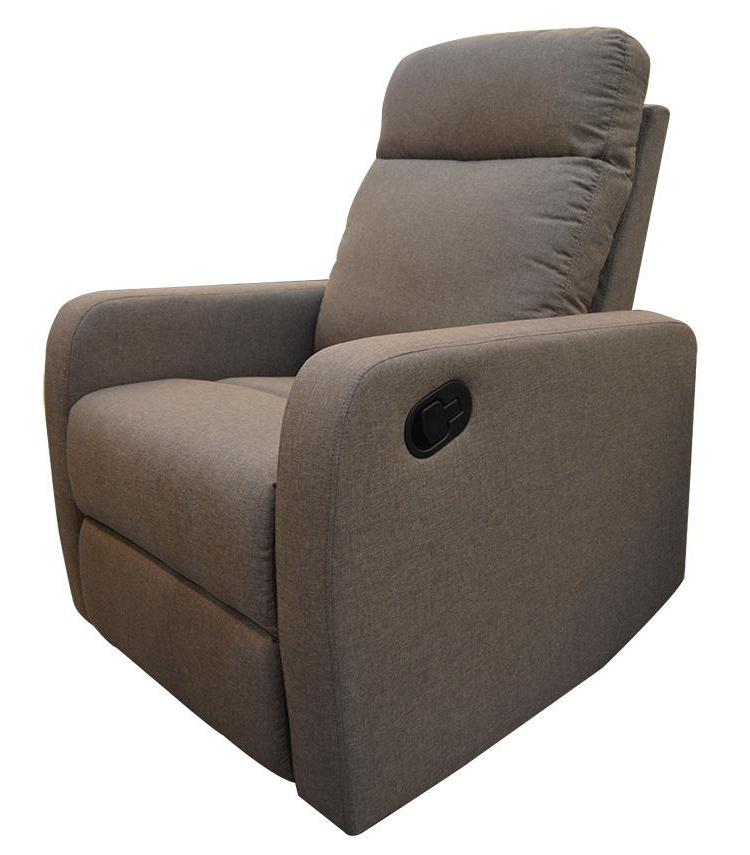 Sofa Reclinable Jxdu sofa Reclinable 1pt Manual Gris Oscuro Kennedy Home