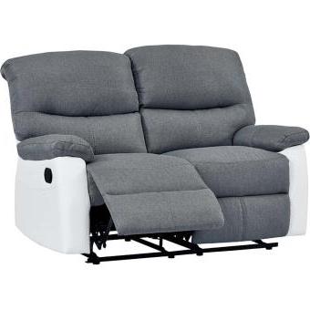 Sofa Reclinable Q0d4 sofà Reclinable 2 Plazas Modelo Lincoln Color Gris Sillones Los