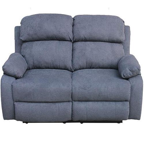 Sofa Reclinable S1du sofà Reclinable Casalinda 2 Cuerpos Maceio Azul