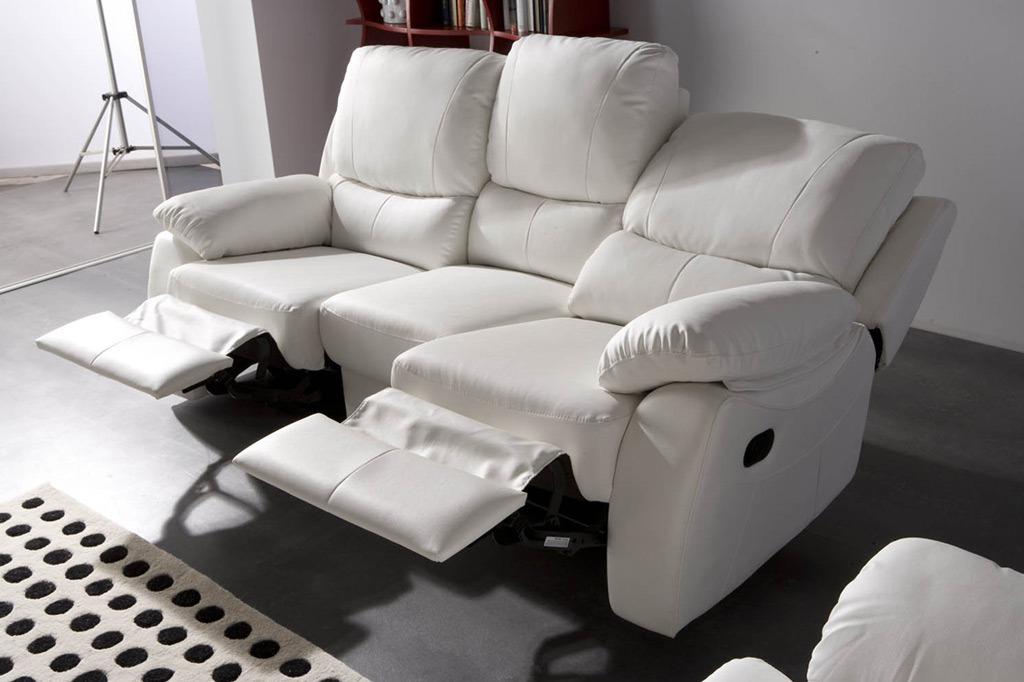 Sofa Reclinable S1du sofà Reclinable Mod Cati 27 900 00 En Mercado Libre