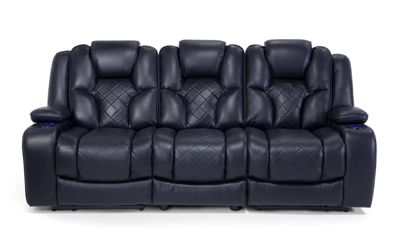 Sofa Reclinable S5d8 Gladiator Power Dual Reclining sofa Bob S Discount Furniture