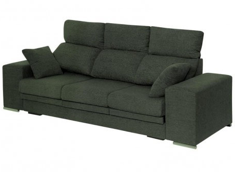Sofa Reclinable T8dj sofà S Sabadell Extensible Y Reclinable Con 2 Puffs Y 2 Cojines