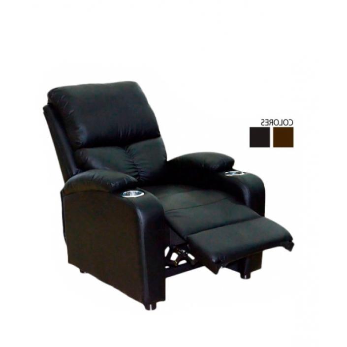 Sofa Reclinable X8d1 Sillon sofà Reclinable Santos De Cuero Elegante