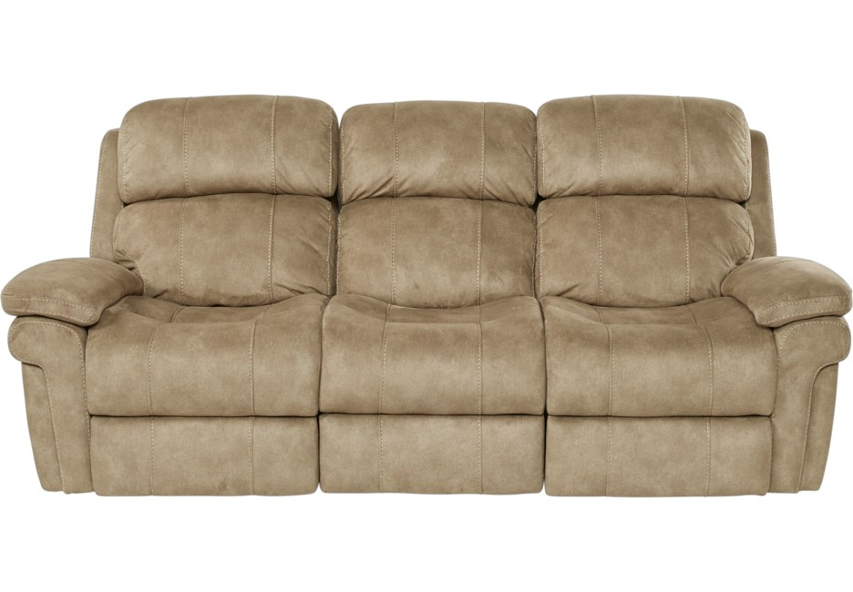 Sofa Reclinable Y7du Glendale Camel Reclining sofa Reclining sofas Brown