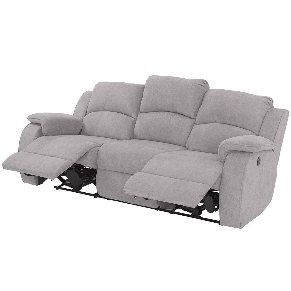 Sofa Relax Electrico 3 Plazas Thdr sofà Relax Elà Ctrico 3 Plazas Boston Conforama