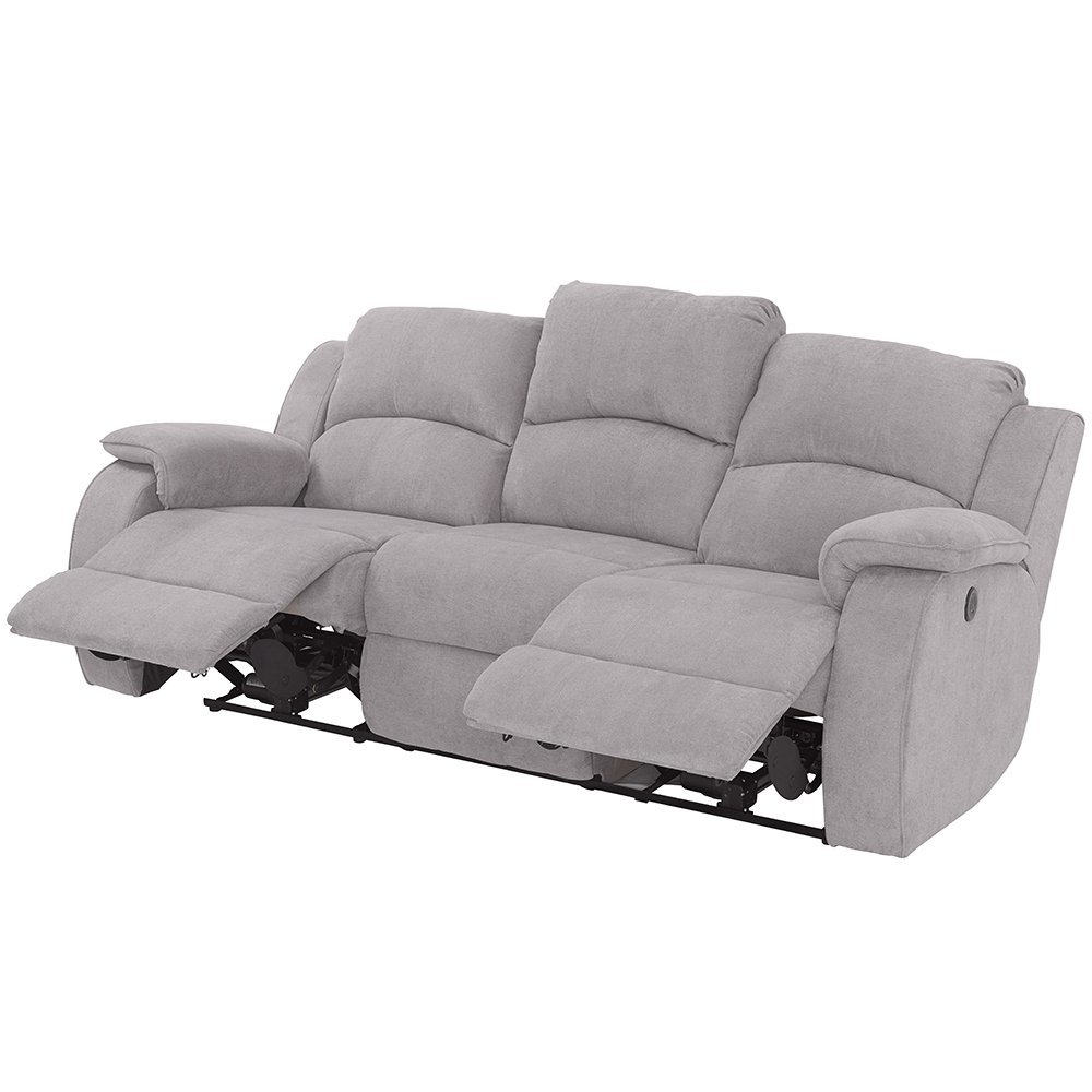 Sofa Relax Electrico 87dx sofà Relax Elà Ctrico 3 Lugares Boston Conforama