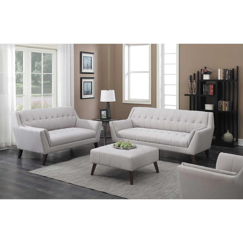 Sofa Retro E9dx Binetti Retro Cement sofa 1a 3216s Emerald Home Furnishings Afw