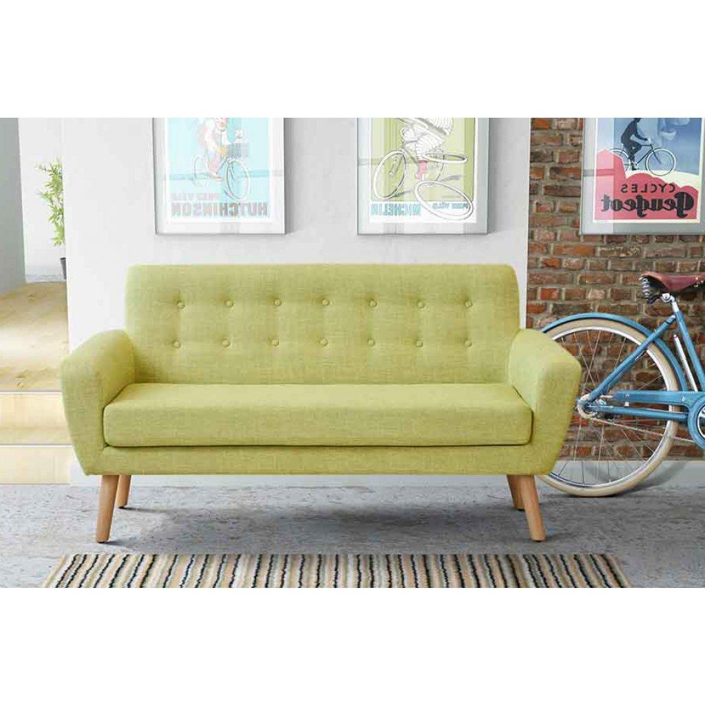 Sofa Retro Ffdn ton 2 Seat sofa Retro Green Scandinavian Design sofa My Furniture