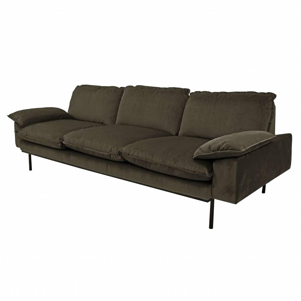 Sofa Retro Mndw Hkliving sofa Retro 3 Seater Hunter New Collection 2018 orangehaus
