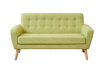 Sofa Retro Q5df My Furniture ton 2 Seater sofa Retro Green