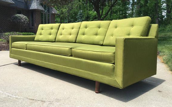Sofa Retro Thdr Mid Century Modern sofa Mid Century sofa Vintage sofa Retro Etsy