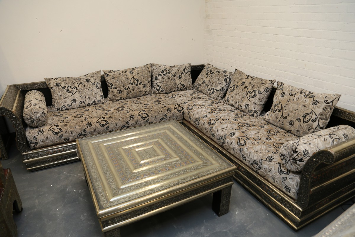 Sofa Salon Gdd0 Moroccan Corner sofa Arabian Salon