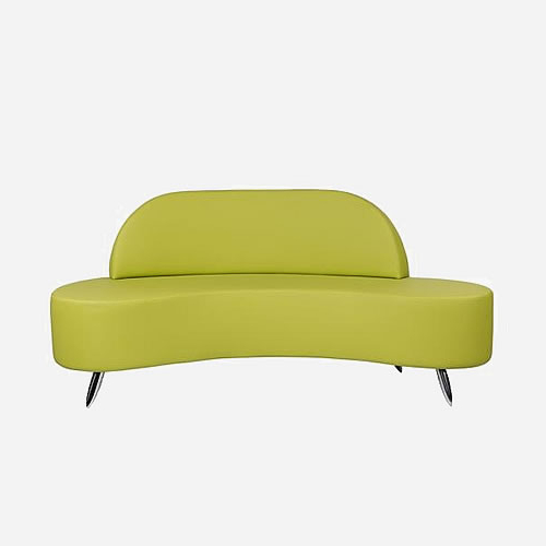 Sofa Salon Txdf Mila Wave Waiting sofa