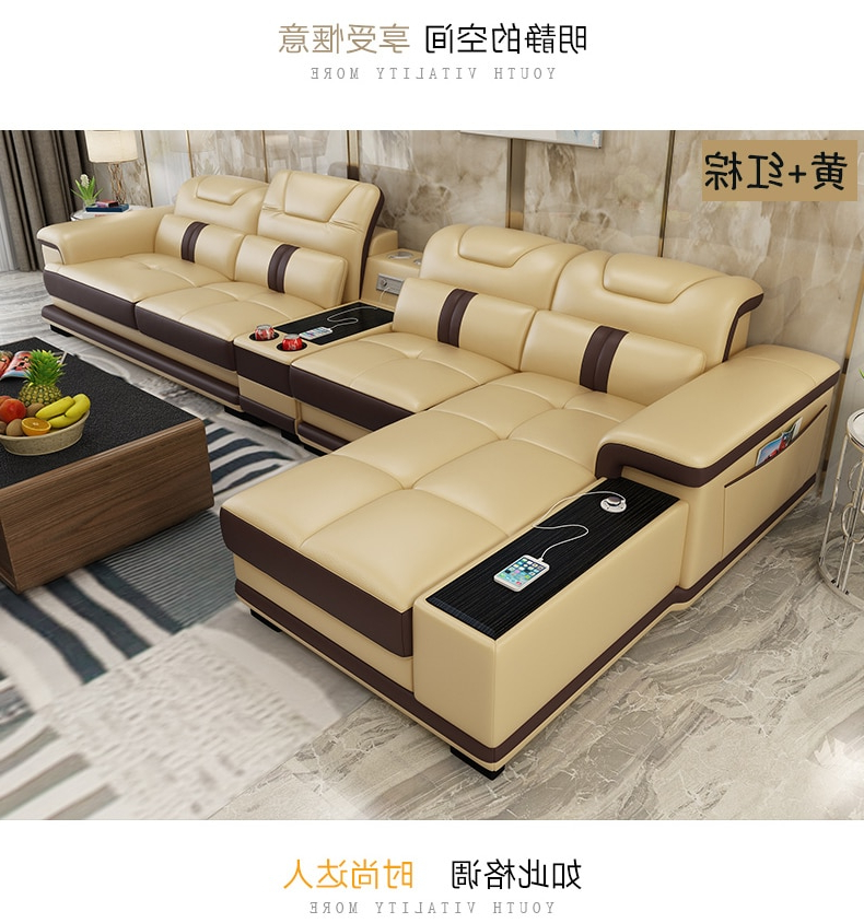 Sofa Salon Txdf Us 1139 05 5 Off Living Room sofa Set Furniture Real Genuine Leather sofas Recliner Salon Couch Puff asiento Muebles De Sala Canape L sofa Cama In