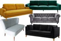 Sofa Terciopelo Rldj Carino sofa Terciopelo El De Colores