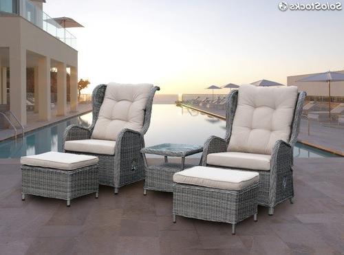 Sofa Terraza Zwdg Conjunto De Terraza Rattan Relax sofa Reclinable Cisca