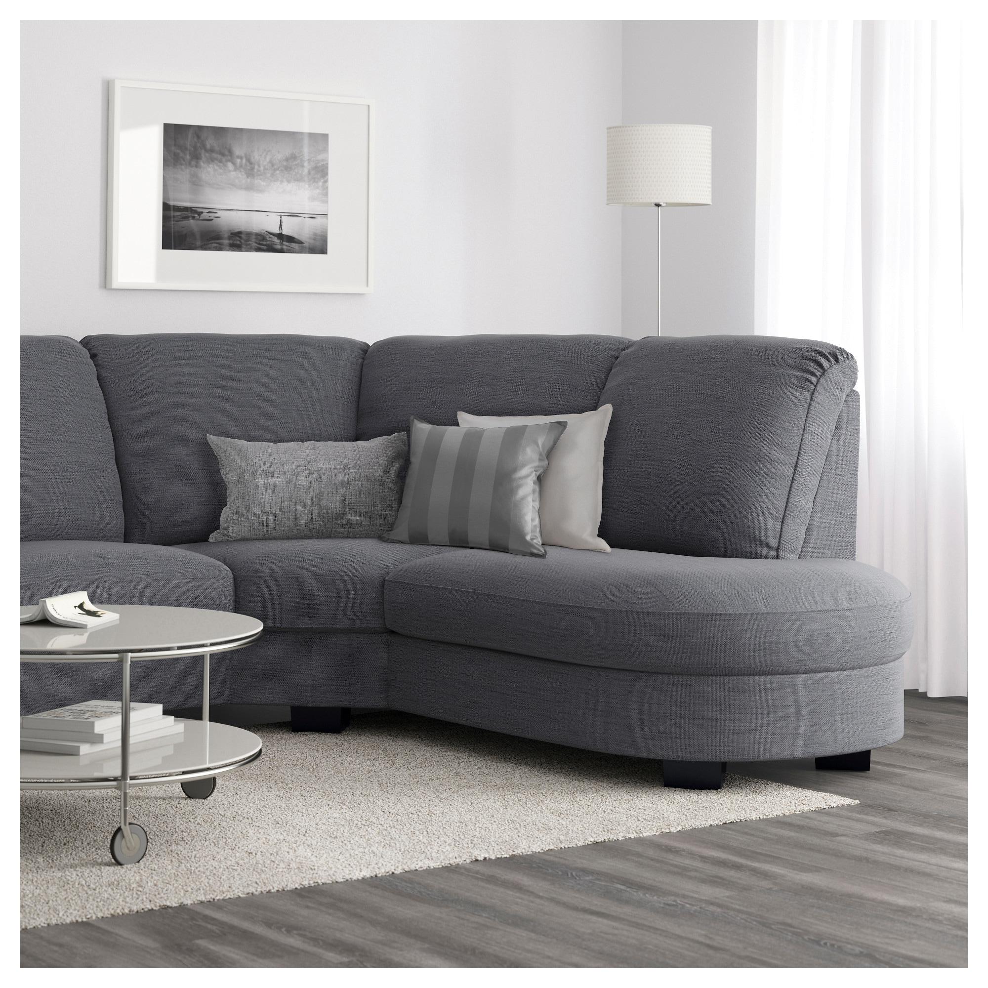 Sofa Tidafors Rldj Tidafors Corner sofa with Arm Right Hensta Grey Ikea